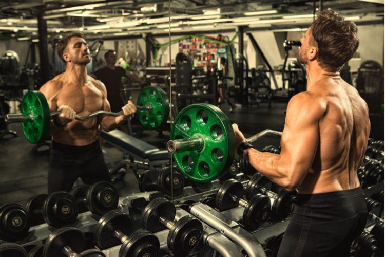 EZ Bar workout (Biceps)