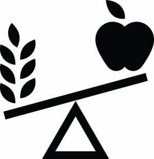 healthy food nutrition icon