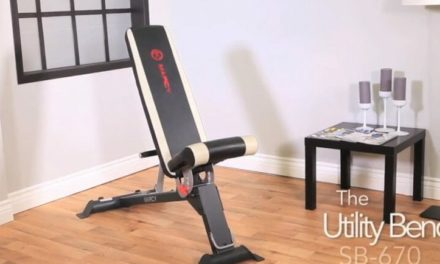 Marcy Adjustable Weight Bench SB 670 Review – With Video