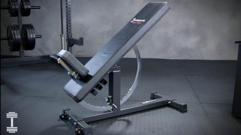Ironmaster weight bench inclined position