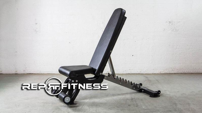 rep fitness adjustable bench with logo