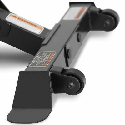 weight bench transport wheels
