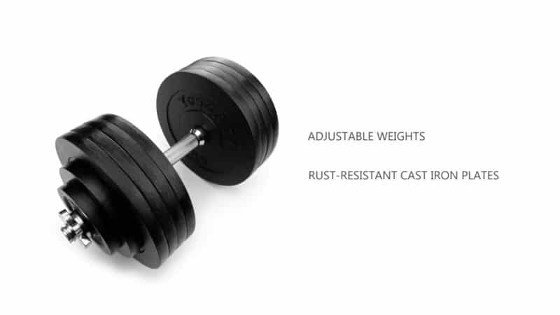 Yes4All Adjustable Dumbbell Set – Review (50lb set) With Video!
