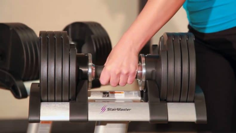 Detailed Review of The Stairmaster Dumbbells – With Video!