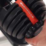 ing bowflex adjustable dial system