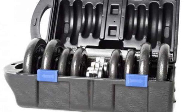 Cap Barbell 40 lb Adjustable Cast Iron Dumbbell Set Review