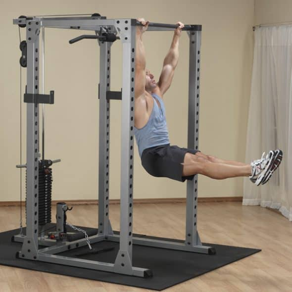 1000lb Weight Capacity Body-Solid Power Rack GPR378 Review