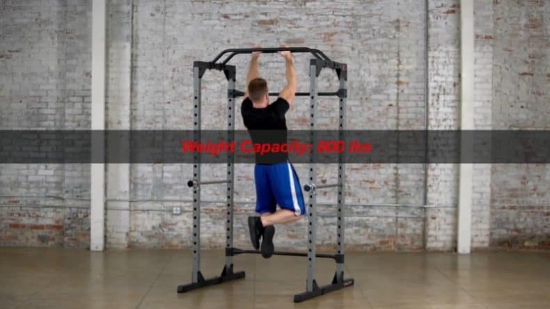 876a8aa797 The Reality Fitness rack has been built to accommodate the 7ft Olympic bar  length as all racks should do