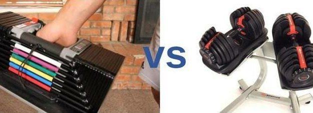 Bowflex 552 vs Powerblock Dumbbells