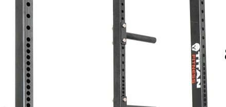 """shows 2"""" and 1"""" hole spacing t3 power rack"""