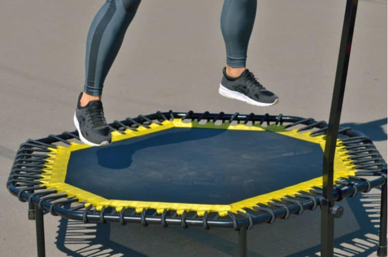 How to Exercise With A Trampoline At Home