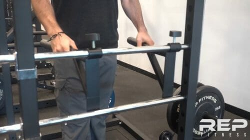 mover able dip bar attachments