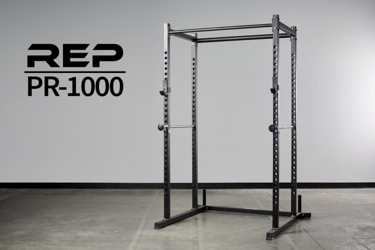full view of rep fitness power rack