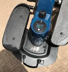 top view of jfit mini elliptical