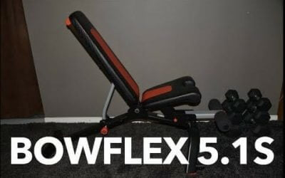Bowflex 5.1s Stowable Bench
