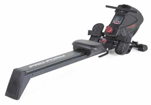 pro form 440 r rowing machine white background