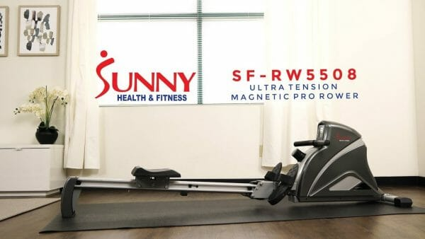 sunny health 5508 on rubber mat