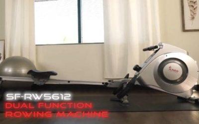 Sunny Health & Fitness SF RW5612 Rower