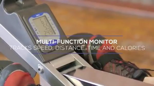 multi function monitor of stamina 1405 rowing machine