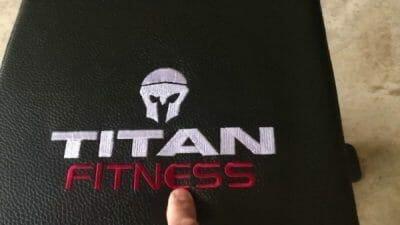 Titan Fitness Adjustable Bench