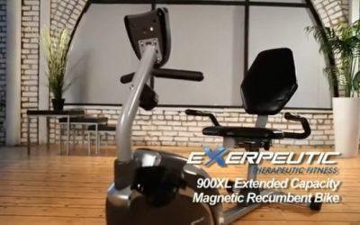Exerpeutic Recumbent Bike 900XL