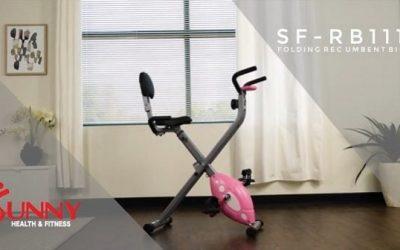 Sunny Folding Recumbent Bike Reviewed