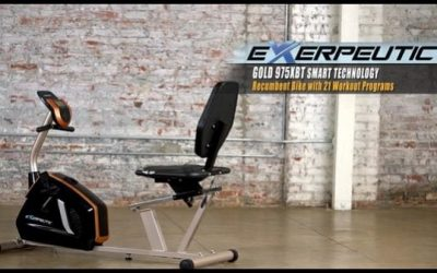 Everything You Should Know About The Exerpeutic GOLD 975XBT Recumbent Bike