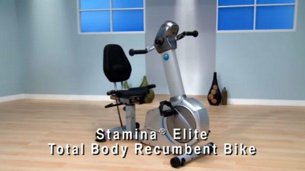 stamina elite recumbent bike