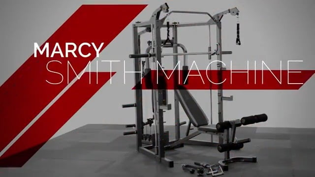 marcy combo smith machine with weight bench