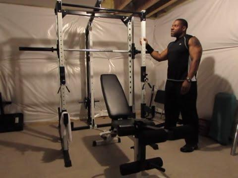 Full view of the yukon fitness caribou III smith machine