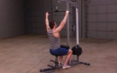 Body Solid Pro Lat Pulldown Machine GLM83 Review