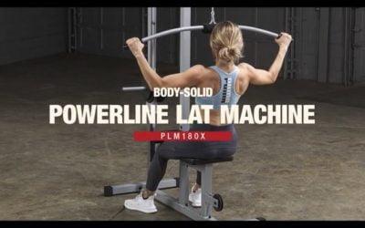 Powerline PLM180X Lat Machine Reviewed
