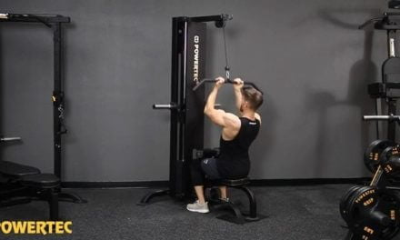 Powertec Lat Pulldown Machine P-LM19 Reviewed