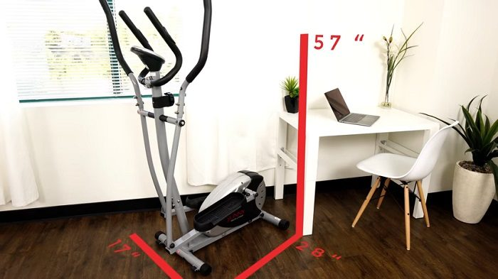 sunny health and fitness magnetic elliptical machine