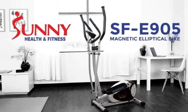 Sunny Magnetic SF-E905 Elliptical Trainer Review