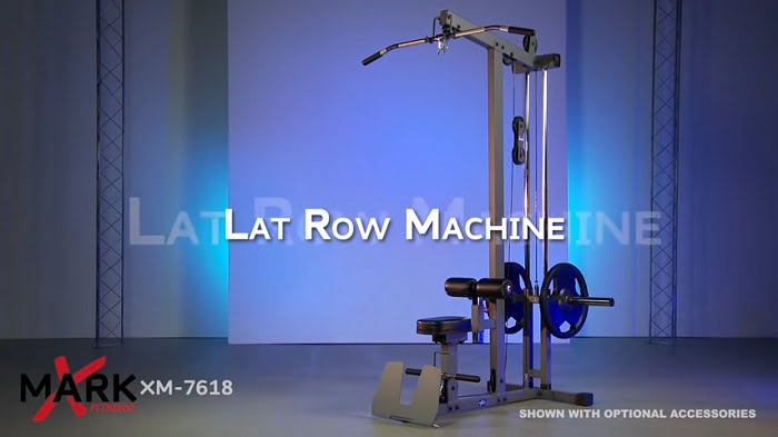 xmark lat pulldown machine