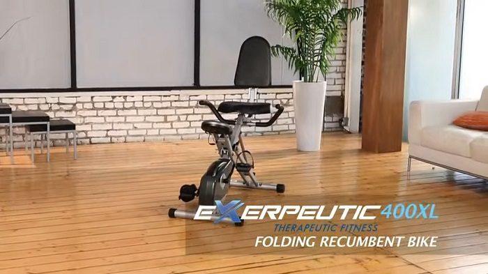 exerpeutic 400xl folding recumbent cycle