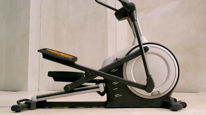 power adjust incline NordicTrack Elliptical