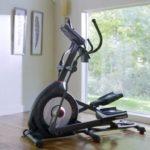 schwinn 470 elliptical in front room of house