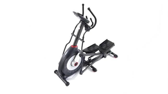 top view Schwinn 430 Elliptical