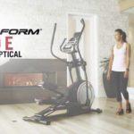 ProForm Endurance 920 E Elliptical in front room of house