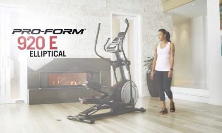 Proform Endurance 920 E Elliptical Review