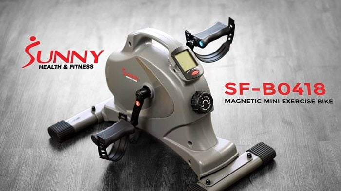 Sunny Health SF-B0418 Magnetic Mini Exercise Bike