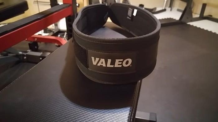 valeo weightlifting belt home gym