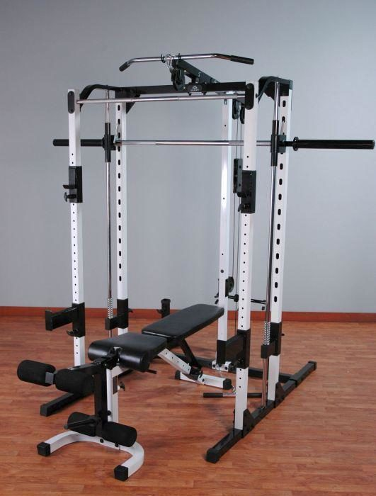 Yukon caribou III smith machine in front room of house