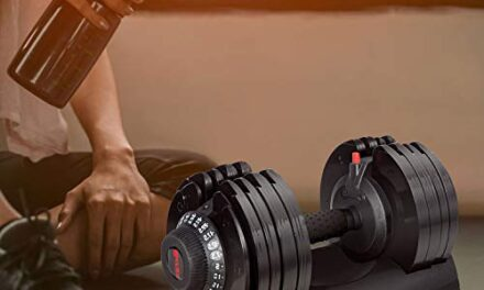 Merax Deluxe Adjustable Dumbbells 71.5lb
