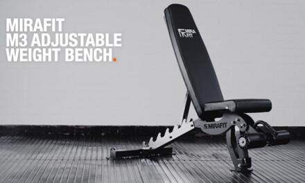 Mirafit M3 Adjustable Weight Bench