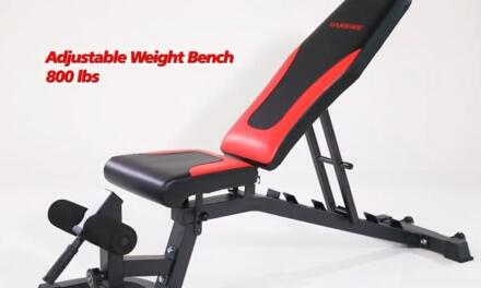 Vanswe Adjustable Weight Bench 800lb