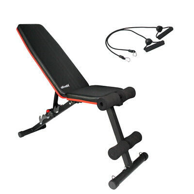 Ativafit adjustable weight bench white background