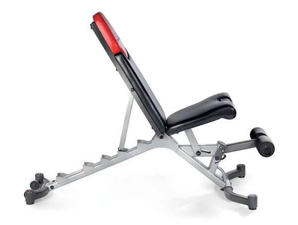 Bowflex SelectTech 5.1 Adjustable Bench white background